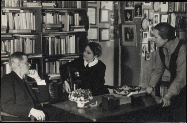 James Joyce and Sylvia Beach