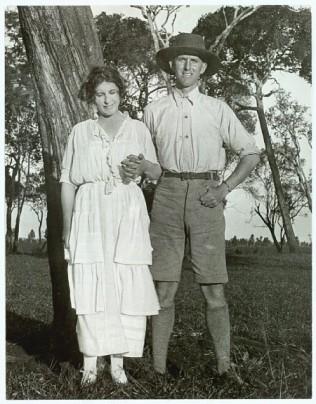Karen Blixen and her brother